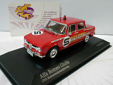 Minichamps 400120994 # Alfa Romeo Giulia ons rennstreckensicherung 1973 1:43
