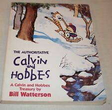 CALVIN & HOBBES Watterson THE AUTHORITATIVE comic strip TREASURY book colour