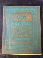 Little Leather Library Corp Redcroft Edition The Holy Grail Tennyson