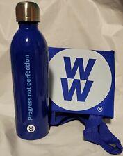 Weight Watchers WW Motivational Water Bottle & Reusable Tote Bag