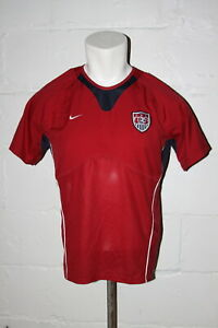 EUC Nike Dri Fit USA US Soccer National Team Youth Practice Jersey Sz L Large