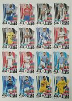 2020/21 Match Attax Champions - Full set of 64 new update cards inc Ronaldo Ibra