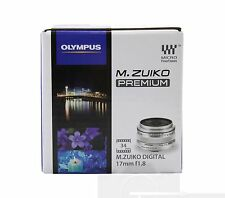 *NEW* Olympus M.Zuiko Digital 17mm f/1.8 f1.8 Lens Sliver for E-M1 E-M5 MKII SLV