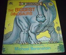 The Biggest Dinosaurs (1989, Paperback Long John Silver's)
