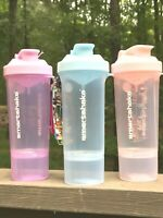 SmartShake SLIM Protein Shaker Blender Mixer Bottle Cup 17 oz SALE - PICK COLOR