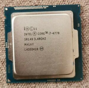 Intel®, Core™ i7-4770, 3.40GHz. CPU Processor, SR149