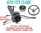 32 Street Hot Rod Pickup Truck Chrome Tilt Steering Column Automatic Wheel