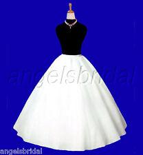 Super Full A-line Hoopless Bridal Wedding Gown Crinoline Petticoat Skirt Slip