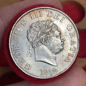 George III, 1760-1820. Halfcrown, 1819.