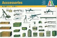 Italeri 1/35 0407 WWII Allies Weapons and Accessories
