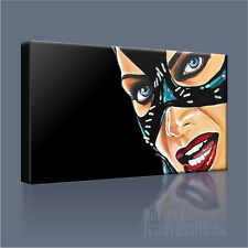 CATWOMAN SUPERB ICONIC MICHELLE PFEIFFER CANVAS ART PRINT PICTURE Art Williams