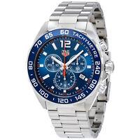 Tag Heuer Formula 1 Blue Dial Chronograph Mens Watch CAZ1014.BA0842