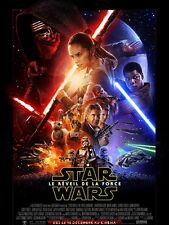STAR WARS 7 le réveil de la force Affiche Cinéma / Movie Poster 60x40 The Force
