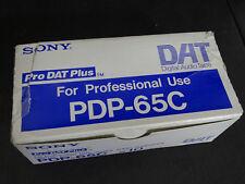 Sony DAT kasetten pdp-65c OVP NUOVO NEW 8 pezzi