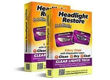 HEADLIGHT RESTORATION KIT for Car Truck Lens Cleaning and UV Protection