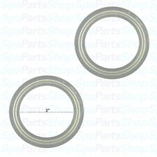 "*Pair* Pool Hot Tub Spa Heater or Pump Union Gaskets 2"" Unions 711-4030 711-4031"