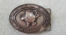 "Hey, Kool-Aid ""Oh, Yeeaahhh!"" Belt Buckle Indiana Metal Craft Remember When!"