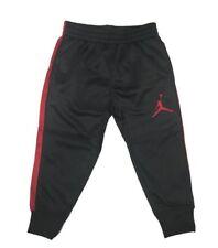Jordan Toddler Boys Athletic Training Pants-Black/Red 4T