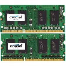 8GB (2x4GB) DDR3-1333MHz PC3-10600 no ECC sin búfer Laptop de 204 pines memoria (RAM)