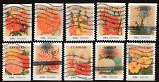 Scott #4754-63 Used Set of 10, Vintage Seed Packets (Off Paper)