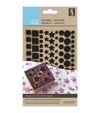 Inkadinkado Sticky Foam Shapes -  Dots & Stars -#264