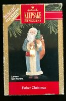 Hallmark Keep Sake Ornament Magic Flickering Light Father Christmas T37