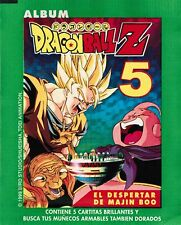 Peru 1999 Navarrete Dragon Ball Z 5 - El Despertar de Majin Boo Sticker Pack