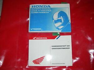 Gebrauchanleitung owners manual Bordbuch Serviceheft Fahrerhandbuch HONDA VT600C