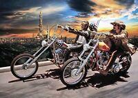 Art Print Poster / Canvas David Mann Easy Rider