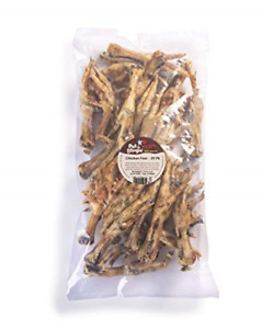 Pet 'n Shape Chicken Feet Dog Treat - Made & Sourced in The USA - All Natural 25