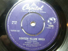 "Bobby Darin – Eighteen Yellow Roses 1963 7"" Capitol CL 15306"