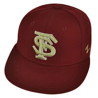 NCAA Florida State Seminoles Fitted Size Flat Bill Zephyr Hat Cap Noles Maroon