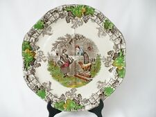 Spode's Byron Series 1 Sectioned Sandwich Plate - Copeland Spode Plate 1937