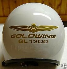 Helmet Decal-Stickers For Goldwing GL1200 (3 sets) For Honda Rider GWH7-1200