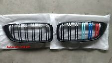 GLOSSY BLACK KIDNEY DOUBLE RIMS M COLOR GRILLE BMW F32 F33 F36 4 SERIES 12-15