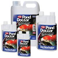 TAP Pond Doctor Dechlorinator Tap Safe Water Treatment Garden Pond Koi Fish Carp