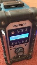 Used Makita DMR104 DAB Job Site Radio With 1.5ah Battery No Charger All Working