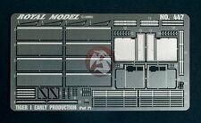 Royal Model 1/48 Tiger I Early Production Update Set Part.2 (PE) (Tamiya) 447