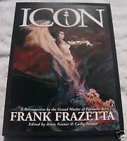 Rare Icon: Retrospective by Frank Frazetta Hardcover HC