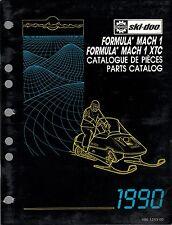 1990 SKI-DOO SNOWMOBILE FORMULA MACH 1 PARTS MANUAL P/N 480 1253 00 (249)