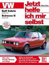 REPARATURANLEITUNG JETZT HELFE ICH MIR SELBST 145 VW GOLF CABRIO SCIROCCO