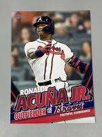 Ronald Acuna Jr 2020 Topps Update Ronald Acuna Jr Highlights TRA-2 Braves