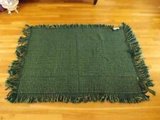 "Nwt Kennebunk Home Tweed Green Briar Throw Blanket 48x68"""