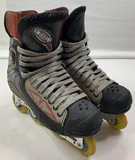 Mission Hockey Inline Roller Blades Hi-Lo Detonator Rm Size 12 Senior (12 Men Us