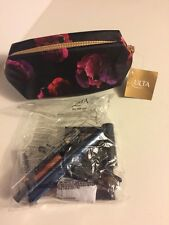 Lot 13 Ulta Piece 2016 Fall Makeup Set FLORAL Bag Palette Mascara Brush Mineral