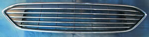 Fit 2015 2016 2017 2018 Ford Focus Front Bumper Upper Radiator Grille Chrome