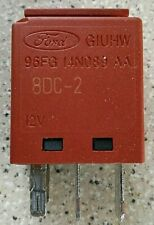 Ford 4-Pin Multi-Use Brown Relay 96FG-14N089-AA G1UHQ 12V V23074 OEM