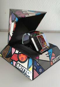 "Romero Britto Uhr "" Binary Art Watch """