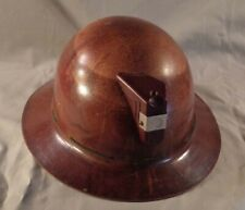 Vintage MSA Full Brim Type K Miner's Helmet with Band
