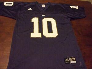 Notre Dame used youth xl Adidas jersey college football fightin irish